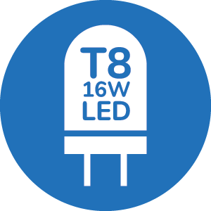 T8 16W LED LIGHT SOURCE